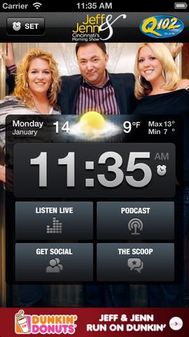 Jeff & Jenn Alarm Clock