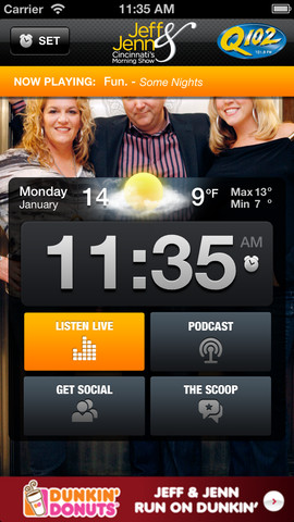 Jeff & Jenn Alarm Clock