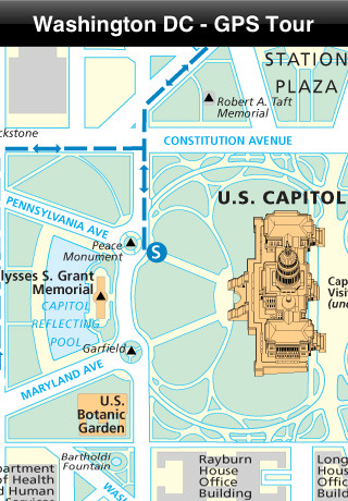 maps of washington dc attractions. Washington DC - GPS Tour