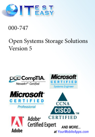 ITestEasy: IBM 000-747 Open Systems Storage Solutions Version 5 home storage shelving systems