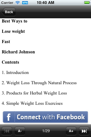 Quick Weight Loss Tips 1.0 App for iPad, iPhone - Health & Fitness - app by Appmedia - LisiSoft.com
