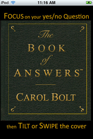 The Book of Answers™ App book cataloging app