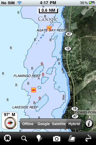 Mille lacs lake fishing 3 5 app for ipad iphone for Mille lacs lake fishing