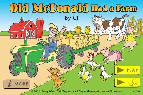 old mcdonald had a form
