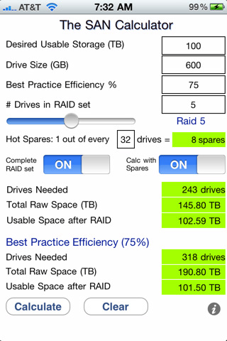 The San Raid Calculator 1 0 App For Ipad Iphone