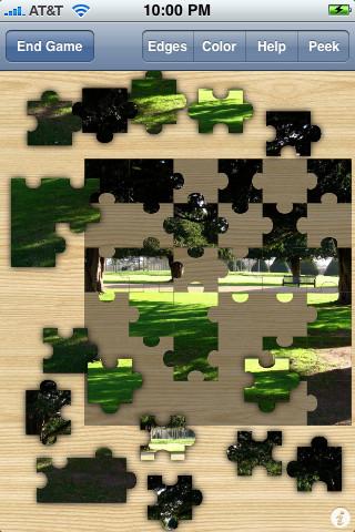 Jigsawed Jigsaw Puzzle