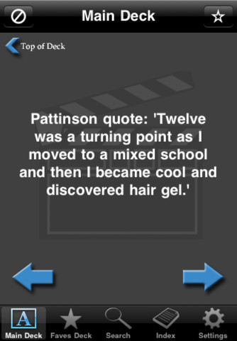 Facts  Robert Pattinson on Robert Pattinson Facts 1 0 1 App For Ipad  Iphone   Books   App By