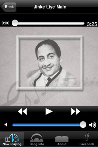 best songs of mohd rafi app for ipad iphone music