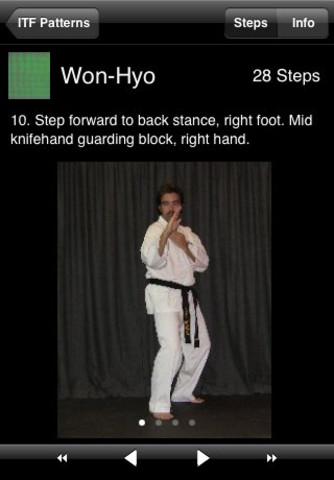 Tae Kwon Do Patterns Main Menu Page - International