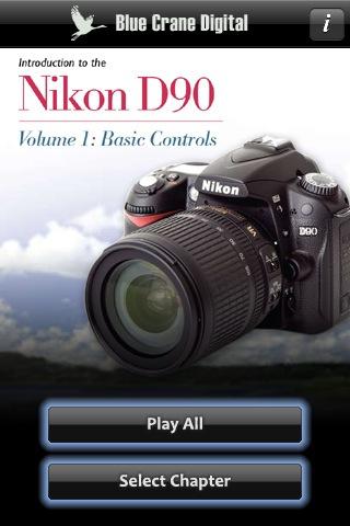 Nikon D90 - Basic Controls 2.0 App for iPad, iPhone - Photography