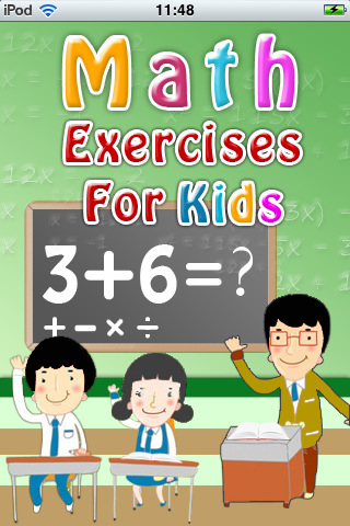 Math Exercises for Kids 1.1