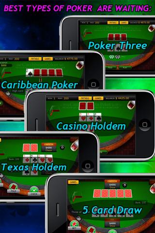 best 3 card poker app for ipad