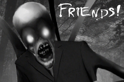 Slender Man Scary Prank App for iPad - iPhone - Photo
