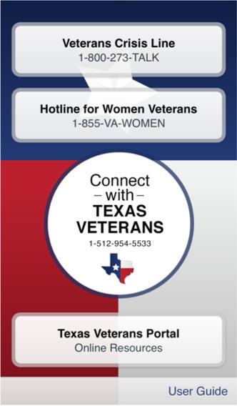 Texas Veterans App veterans