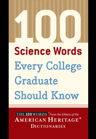 100 Science Words College Graduate Should Know Education