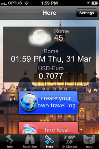 Rome World Travel Guide on europe maps for iphone html