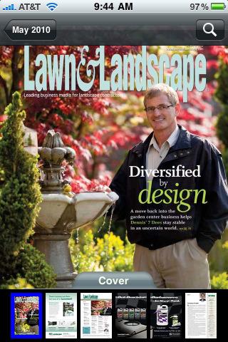landscape magazine app