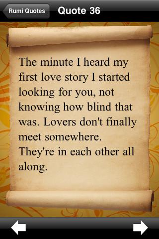 I Love You Quotes Rumi : Rumi Poems Quotes. QuotesGram