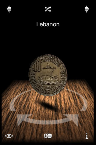 Download flipanickel 3d coin toss iphone ipad ios