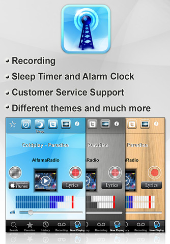 radio malta alarm clock recorder 1 7 app for ipad iphone music app by amir markish. Black Bedroom Furniture Sets. Home Design Ideas
