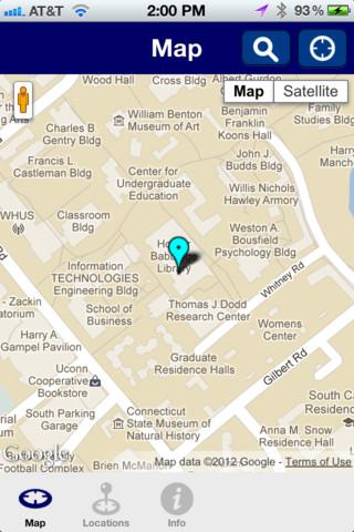 Uconn Campus Map Traffic Club