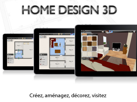 Home Design 3D By LiveCad - Freemium - For iPad
