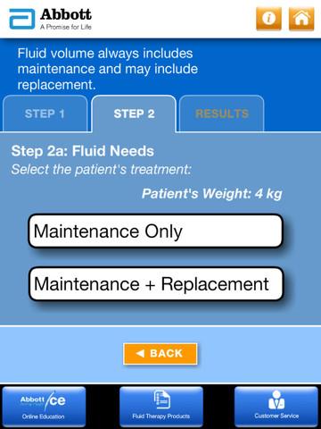 Abbott Animal Health I.V. Fluid Volume Calculator for iPad
