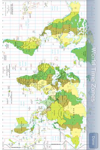 Talking Time Zones w/map gardening zones map