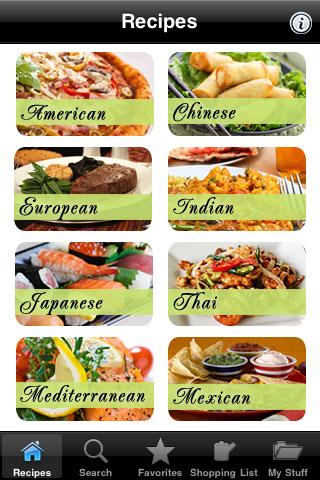choose healthy food menu