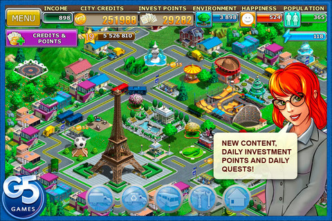 Virtual City Playground 1.7.5 App for iPad, iPhone - Games - app by G5