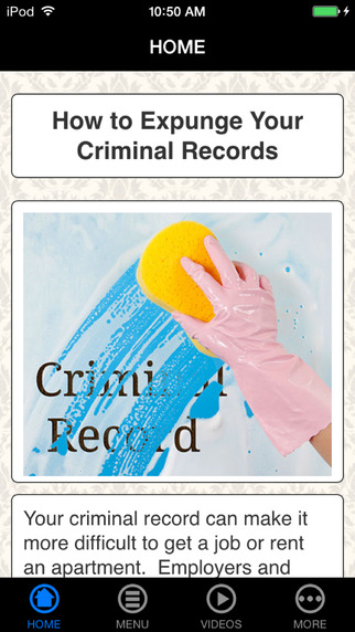 Get Rid Of Ciminal Records - DIY Expunge Criminal Records background check public records