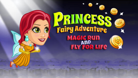 Princess Fairy Adventure: Magic Run And Fly For Life Free Game by Top Free Fun Games, LLC