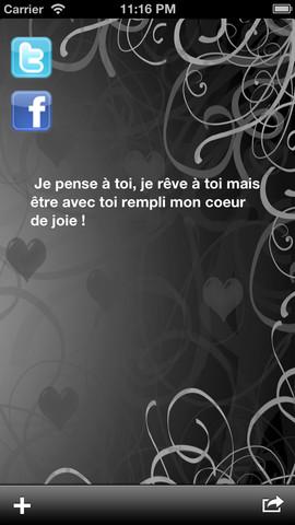 Poèmes d`amour