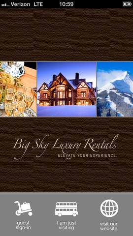 BIg Sky Luxury Rentals 1.3.0