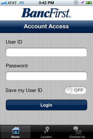 Manage accounts