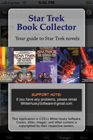 Star Trek Book Collector