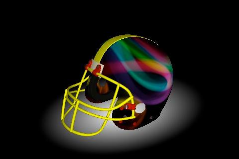 Football helmet 3d design your helmet decals iphone ipad ios