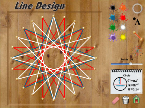 Math Line Designs http://appfinder.lisisoft.com/app/hands-on-math-line-design.html