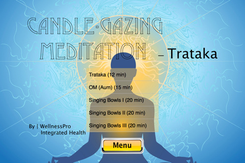 Candle Gazing Meditation 1.0 App for iPad, iPhone