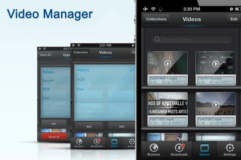 Video Downloader & Manager