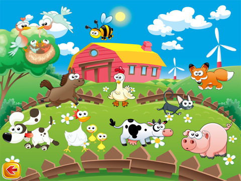 Game Trẻ Em Animals Pictures Sounds 4 Kids