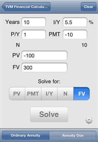 tvm and financial calculator A tutorial about using the ti baii plus professional financial calculator to solve  time value of money problems involving lump sum cash flows.