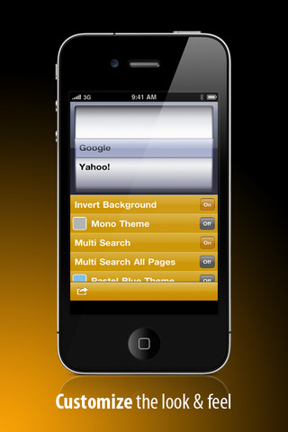 Search Maestro For Yahoo! (For iPhone/iPod Touch)
