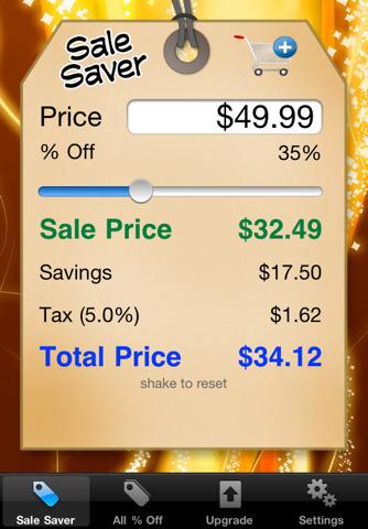 3 way calculator percent off