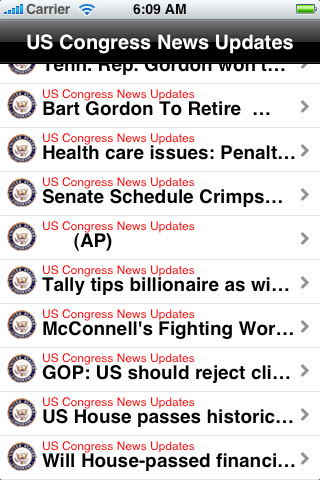 US Congress News Updates