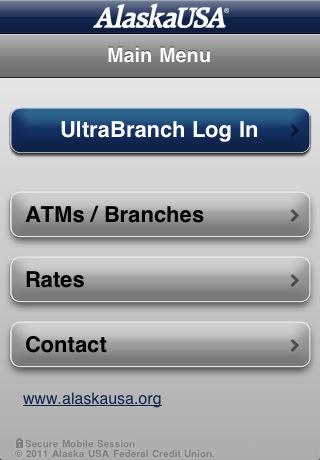 Alaska USA Federal Credit Union App for iPad - iPhone