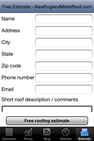 Metal Roofing Calculator 1 0 1 App For Ipad Iphone
