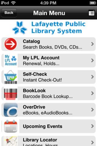 Lafayette Public Library free public online library