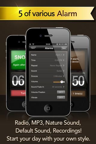 how to change alarm sound on iphone 4