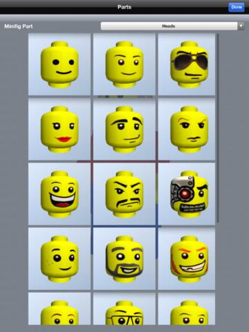 Lego Minifig Creator 3d Hd App For Ipad Iphone